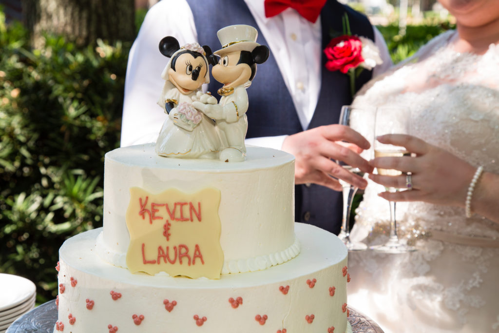 Disney Wedding with Mickey and Minnie Mouse