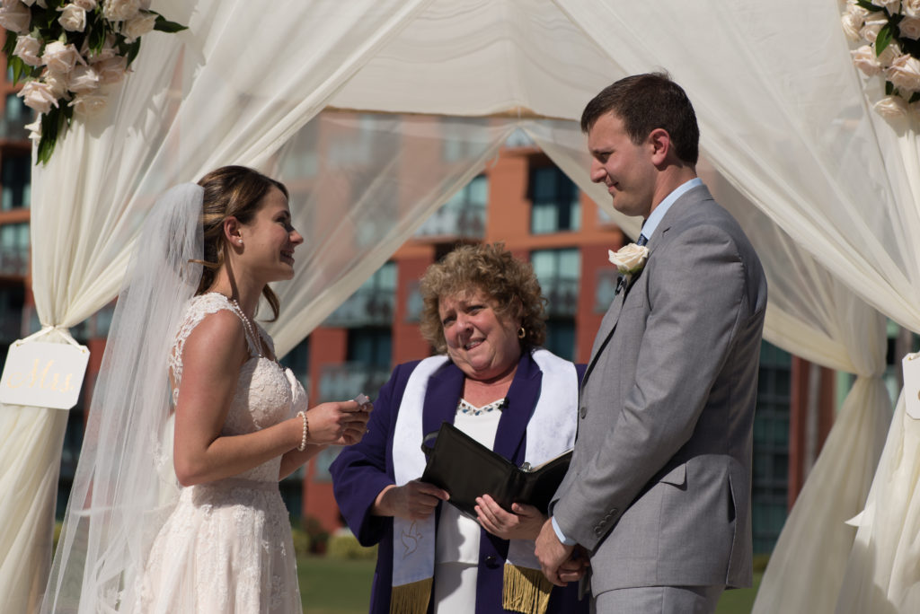 Swan and Dolphin hotel wedding