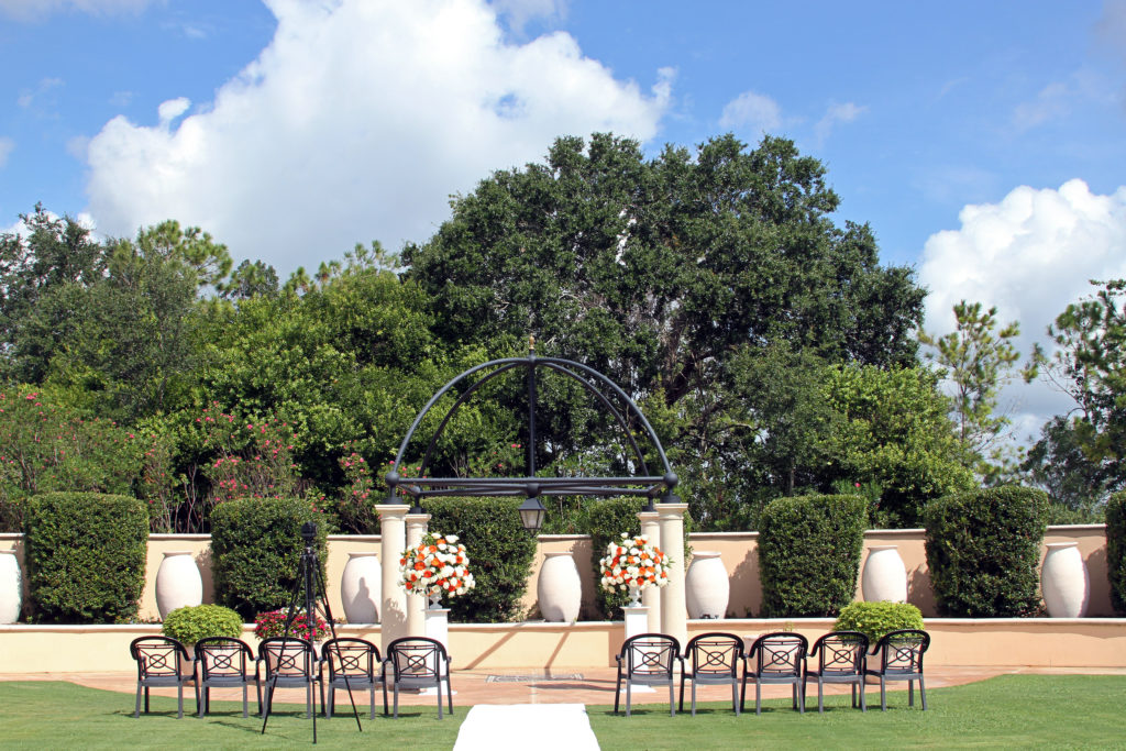 Orlando Wedding Portofino Bay Hotel