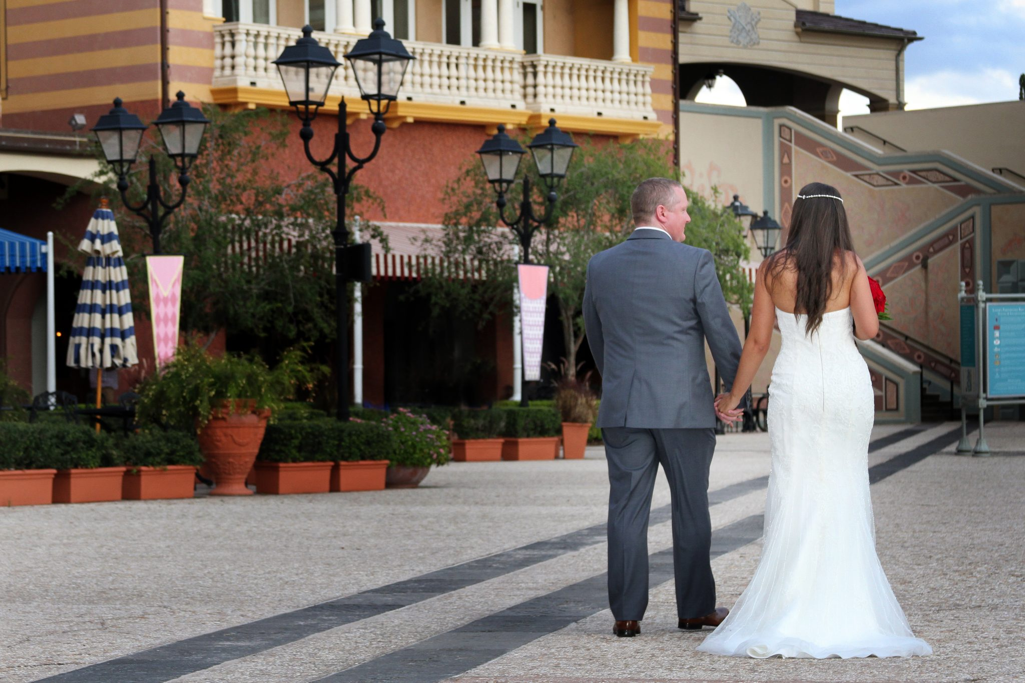 Portofino Bay Hotel Wedding
