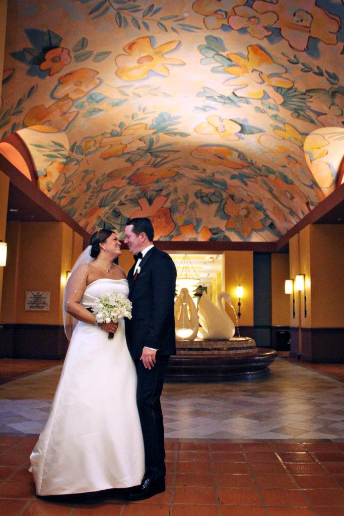 swan and dolphin hotel wedding disney