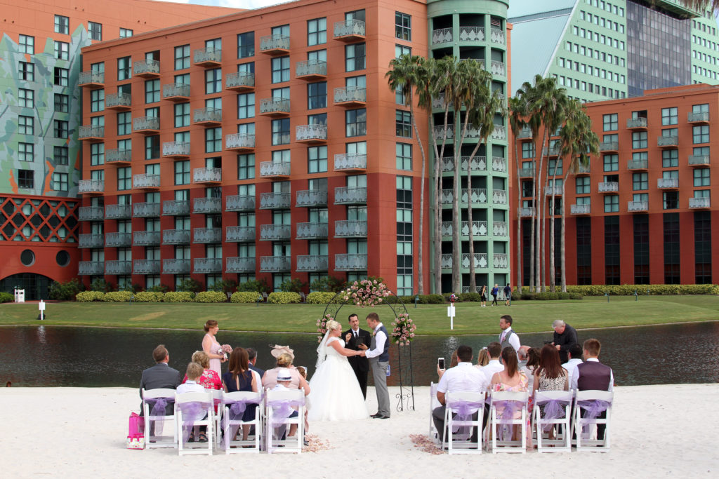 Walt Disney Swan and Dolphin Resort Wedding