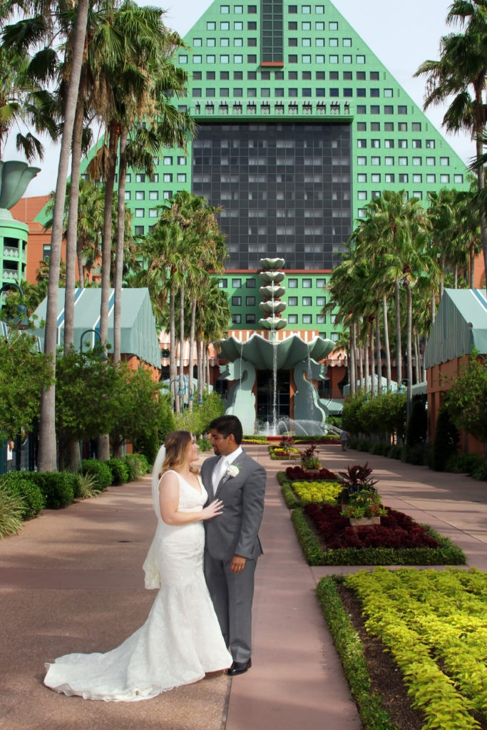 Dolphin Resort Orlando Wedding