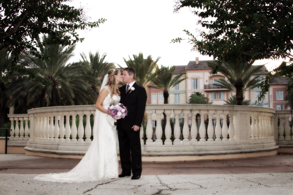 Portofino Bay Hotel Orlando Wedding