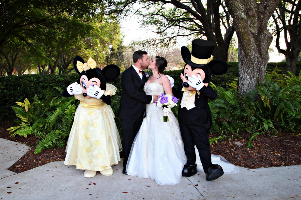 Swan and Dolphin Disney Wedding