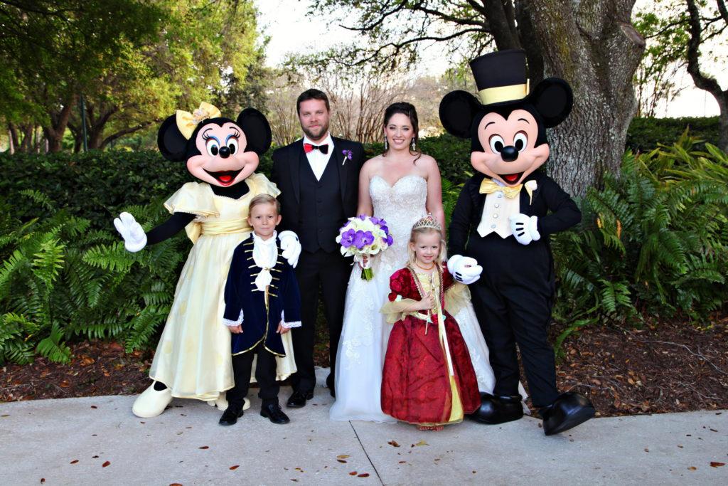 Swan and Dolphin Disney Wedding