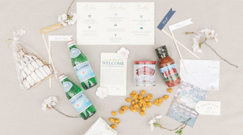 Orlando Wedding Welcome Basket Must-Haves