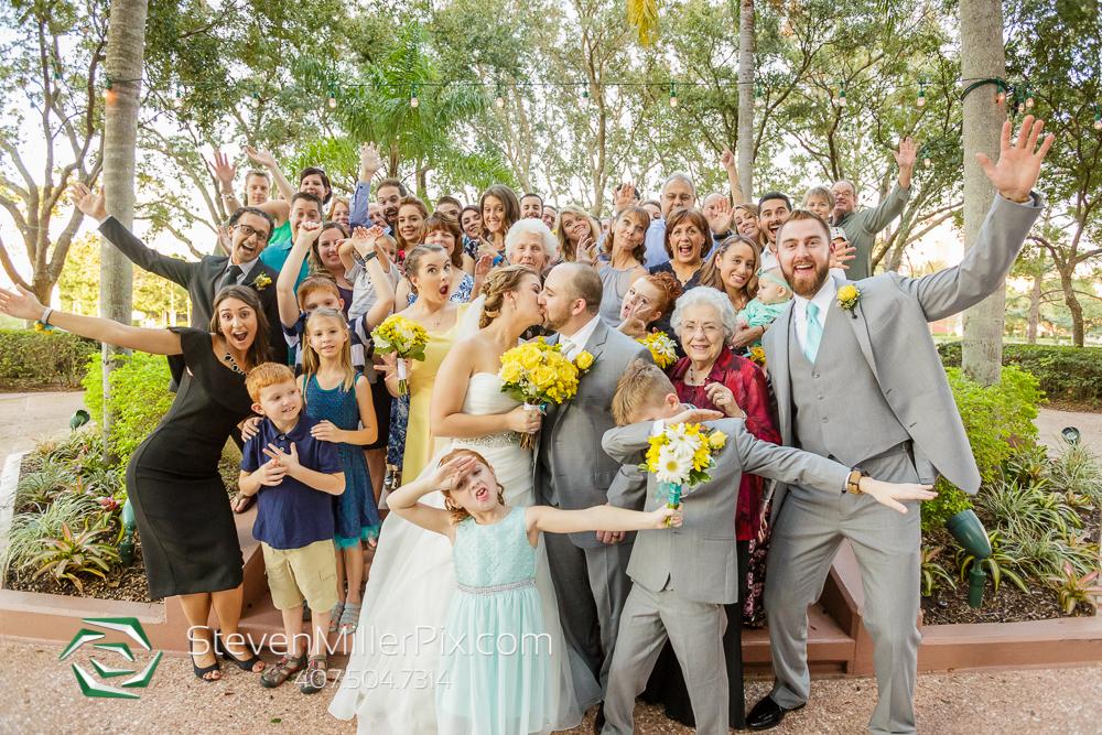 Walt Disney World Swan Wedding