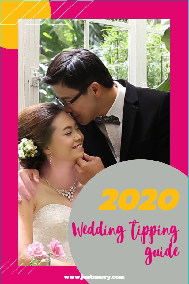 Wedding Tipping Guide - Just Marry Weddings