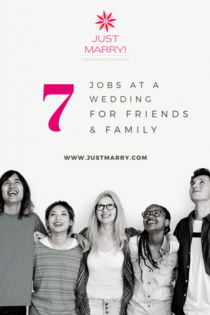 7 Jobs at a Wedding for Friends and Family