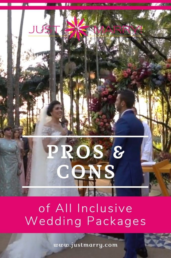 All Inclusive Wedding Packages - Just Marry Weddings
