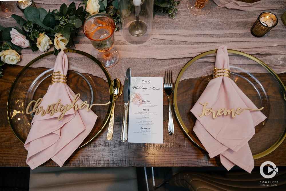April Wedding - Just marry Weddings - Complete Weddings and Events - Table Decor