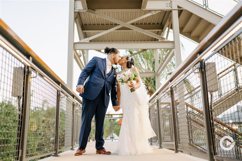Stunning April Wedding | Cami and Chris at Paddlefish Disney Springs