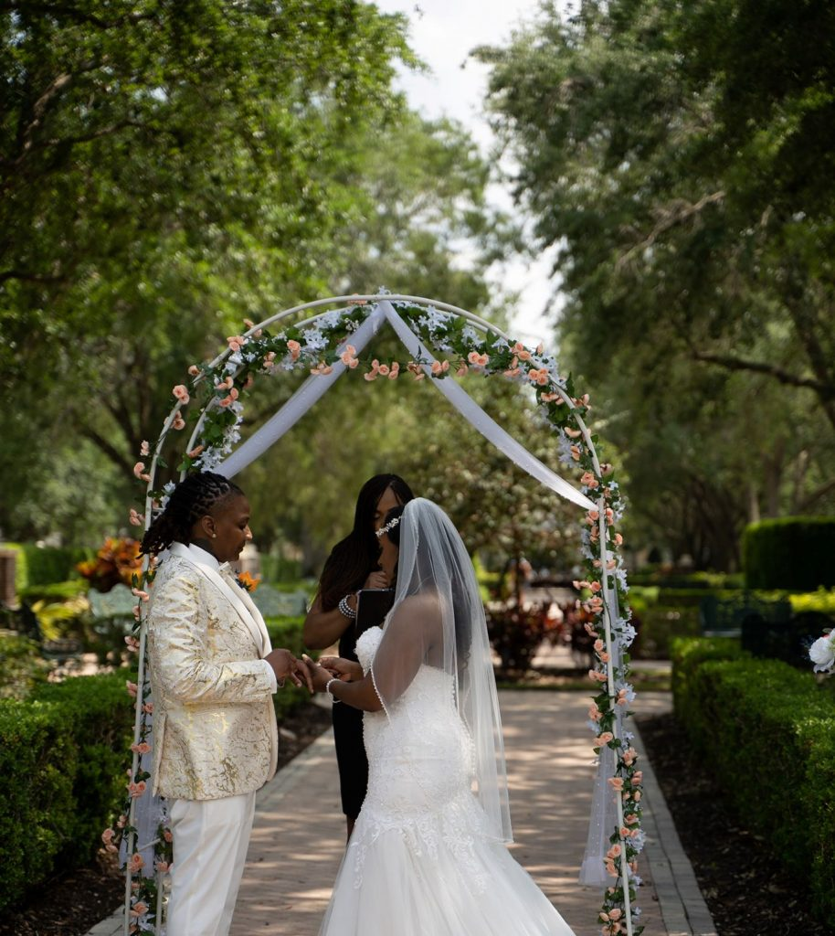 April Wedding - Just Marry Weddings - Rodney Husbands Photography - Ceremony