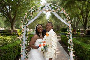 April Wedding - Just Marry Weddings - Rodney Husbands Photography - Portraits