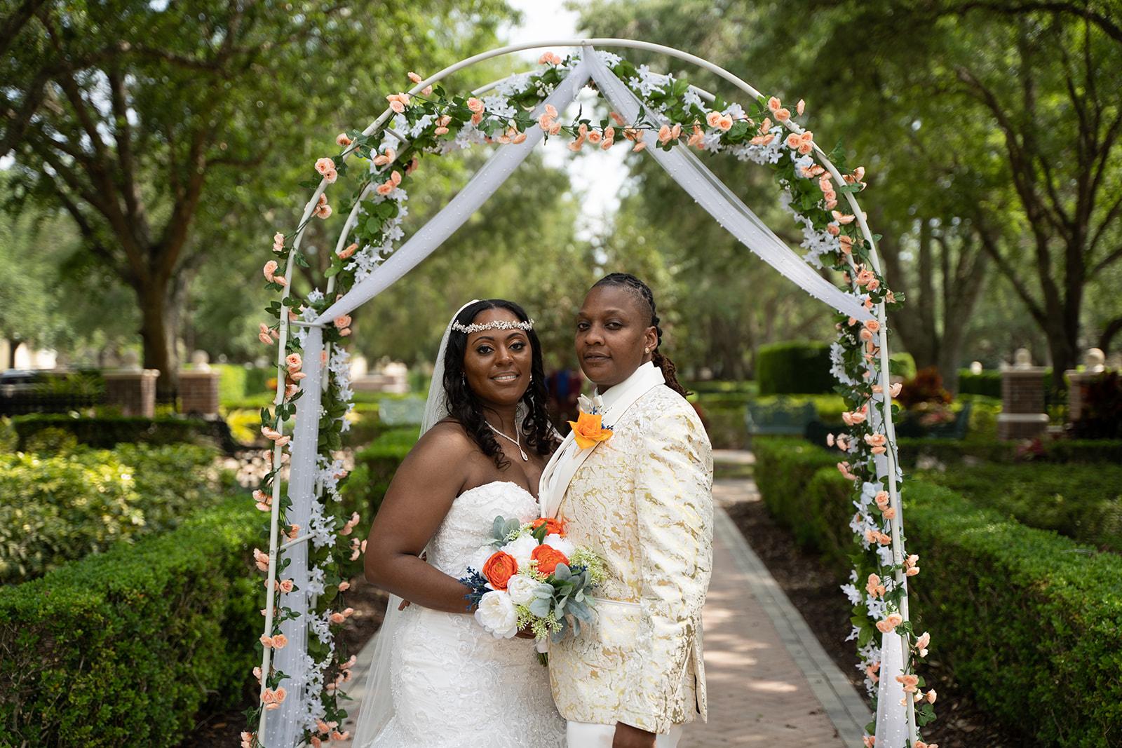Beautiful April Wedding | Alethea and Lisa at Reunion Resort