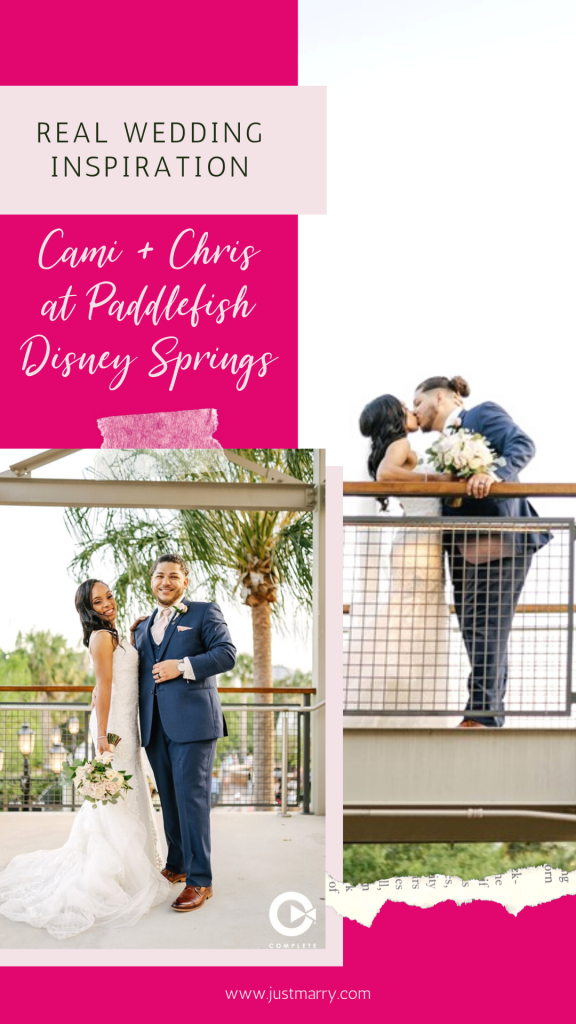 April Wedding - Just marry Weddings - Complete Weddings and Events - Pinterest Graphic