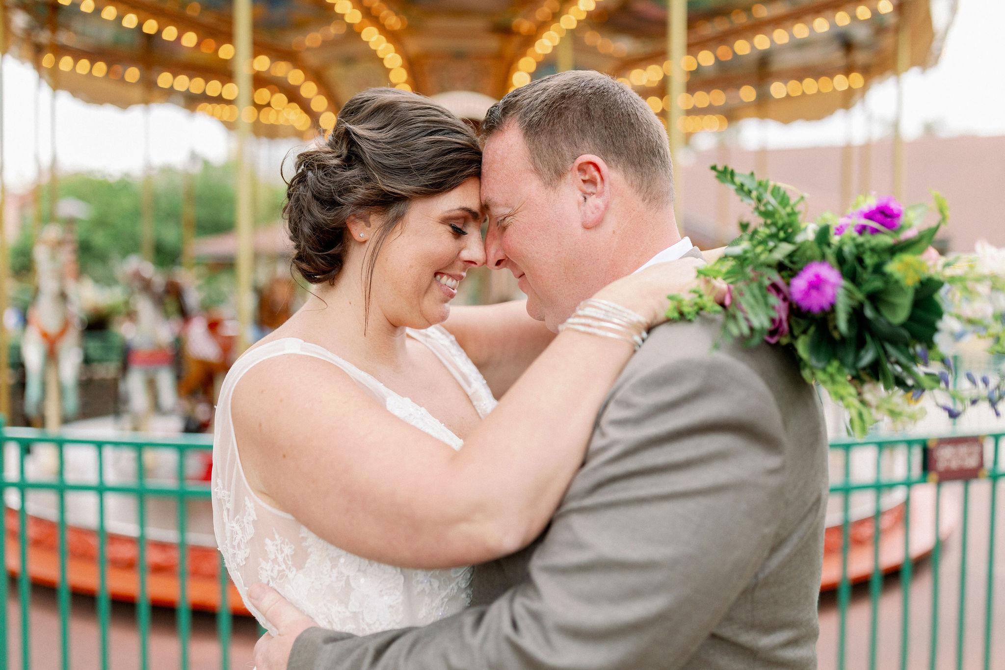 Blended Family Wedding | Danielle and Glenn at Paddlefish