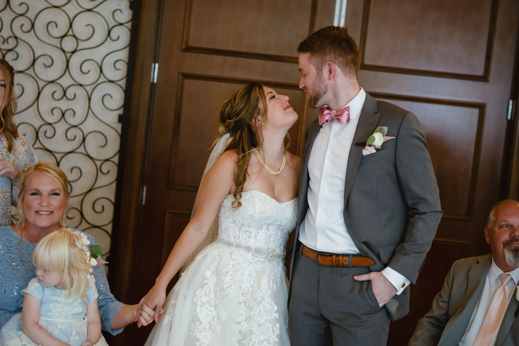 Blush Pink Wedding | The Alfond Inn Wedding of Rebecca and Michael
