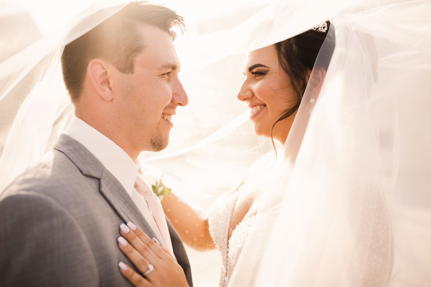 Stunning Blush and Gold Wedding | Carissa and Aaron at the WDW Swan and Dolphin