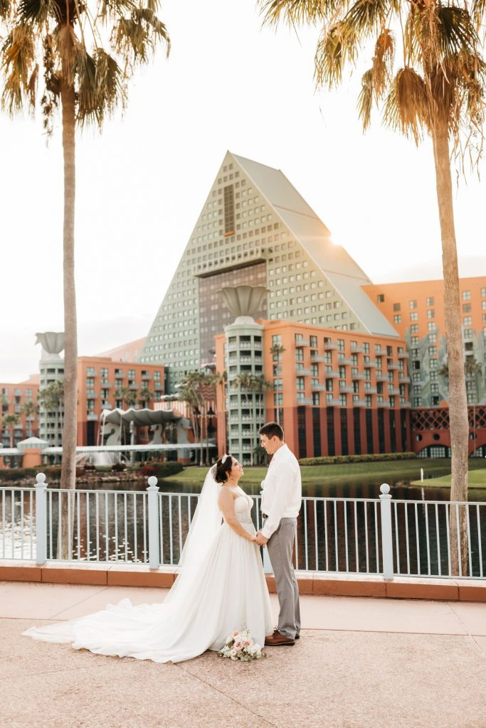 Blush and Gold Wedding - Just Marry Weddings - Allie and Joey Photography - Portraits