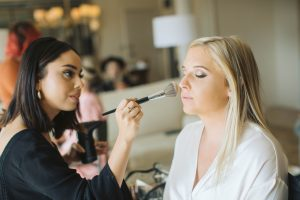 Bridal Hair and Makeup - Just Marry Weddings - Photography by Avery