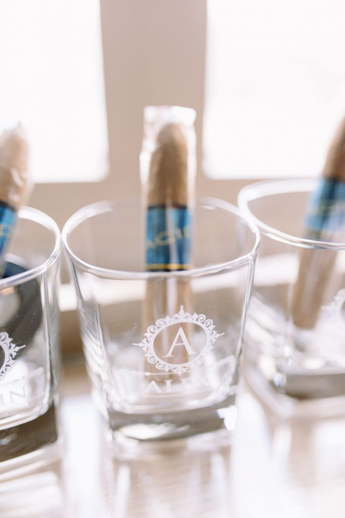 Burgundy and Blush Wedding - Just Marry Weddings - JP Pratt Photography - Cigar Favors
