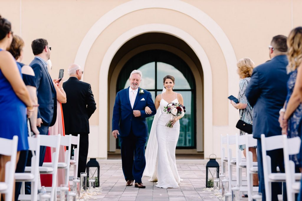 Burgundy and Blush Wedding - Just Marry Weddings - JP Pratt Photography - Here Comes the Bride