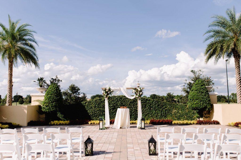 Burgundy and Blush Wedding - Just Marry Weddings - JP Pratt Photography - Ceremony Decorations