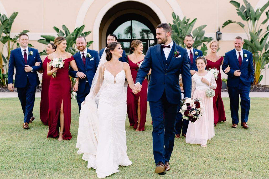 Burgundy and Blush Wedding - Just Marry Weddings - JP Pratt Photography