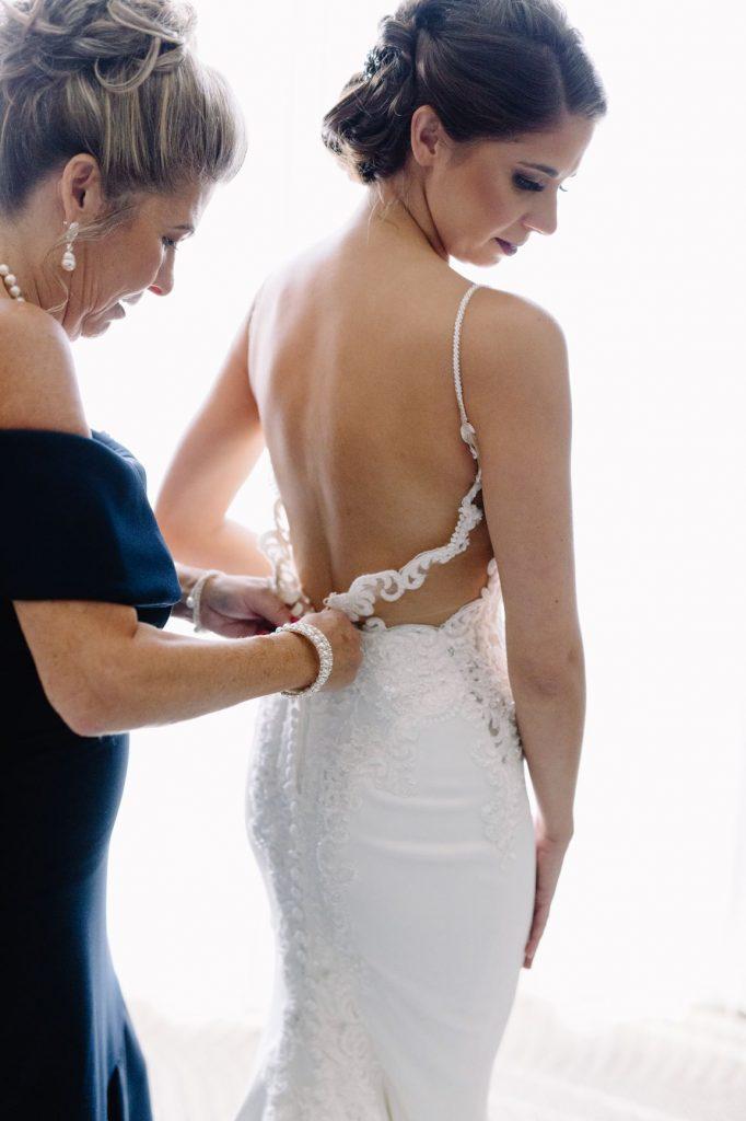 Burgundy and Blush Wedding - Just Marry Weddings - JP Pratt Photography - Bride Getting Ready