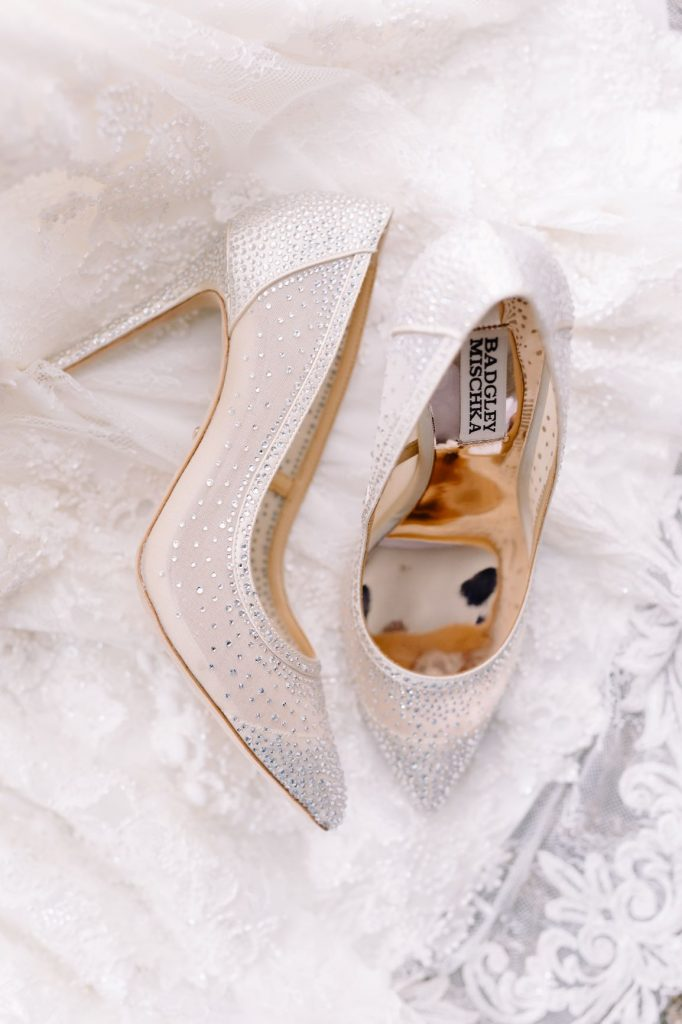 Burgundy and Blush Wedding - Just Marry Weddings - JP Pratt Photography - Wedding Shoes