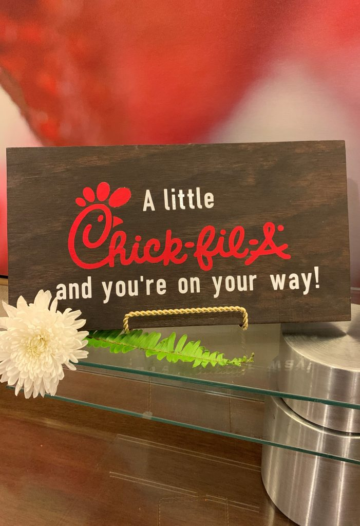 Wedding Details - Just Marry Weddings - Chick-Fil-A