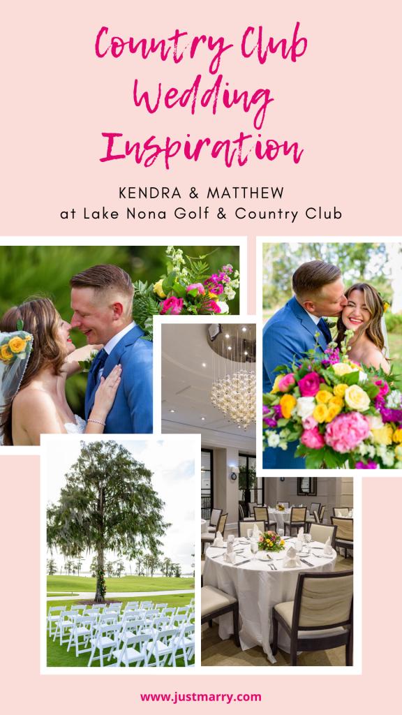 Country Club Wedding - Just Marry Weddings - Photolocity