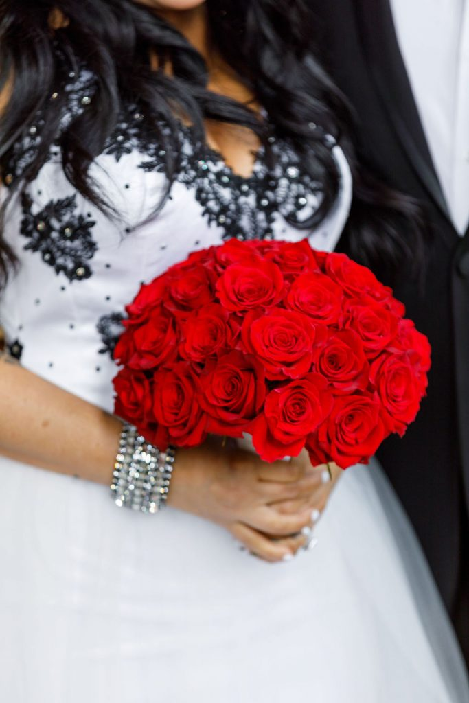 Cultural Wedding - Just Marry Weddings - Victoria Angela Photography - Red Bouquet