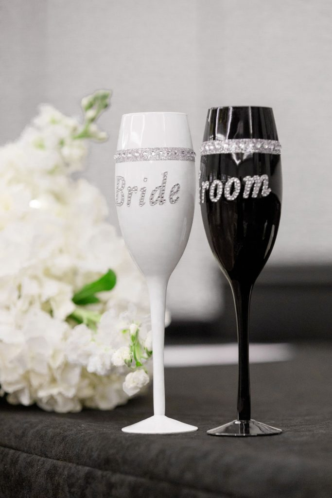 Cultural Wedding - Just Marry Weddings - Victoria Angela Photography - Toasting Flutes