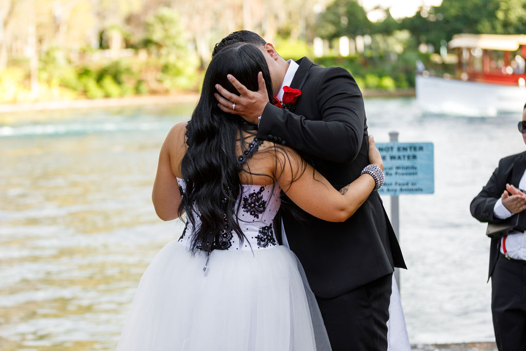 Cultural Wedding - Just Marry Weddings - Victoria Angela Photography - First Kiss