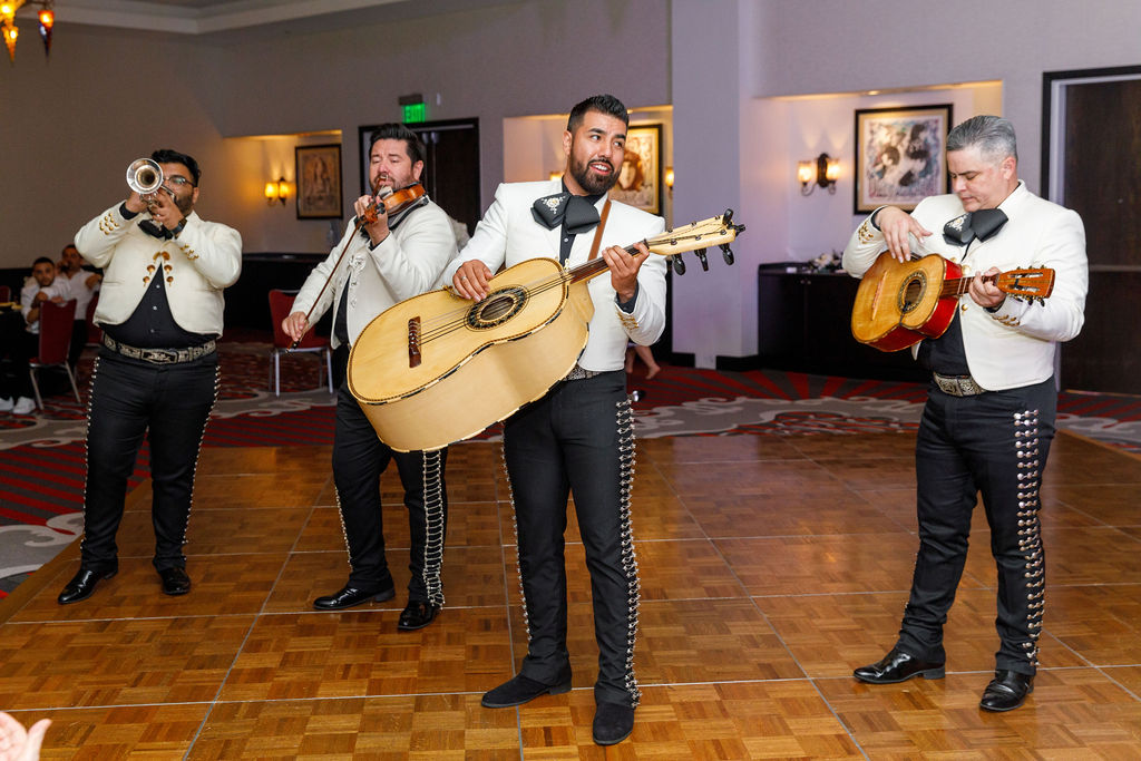 Cultural Wedding - Just Marry Weddings - Victoria Angela Photography - Mariachi Band