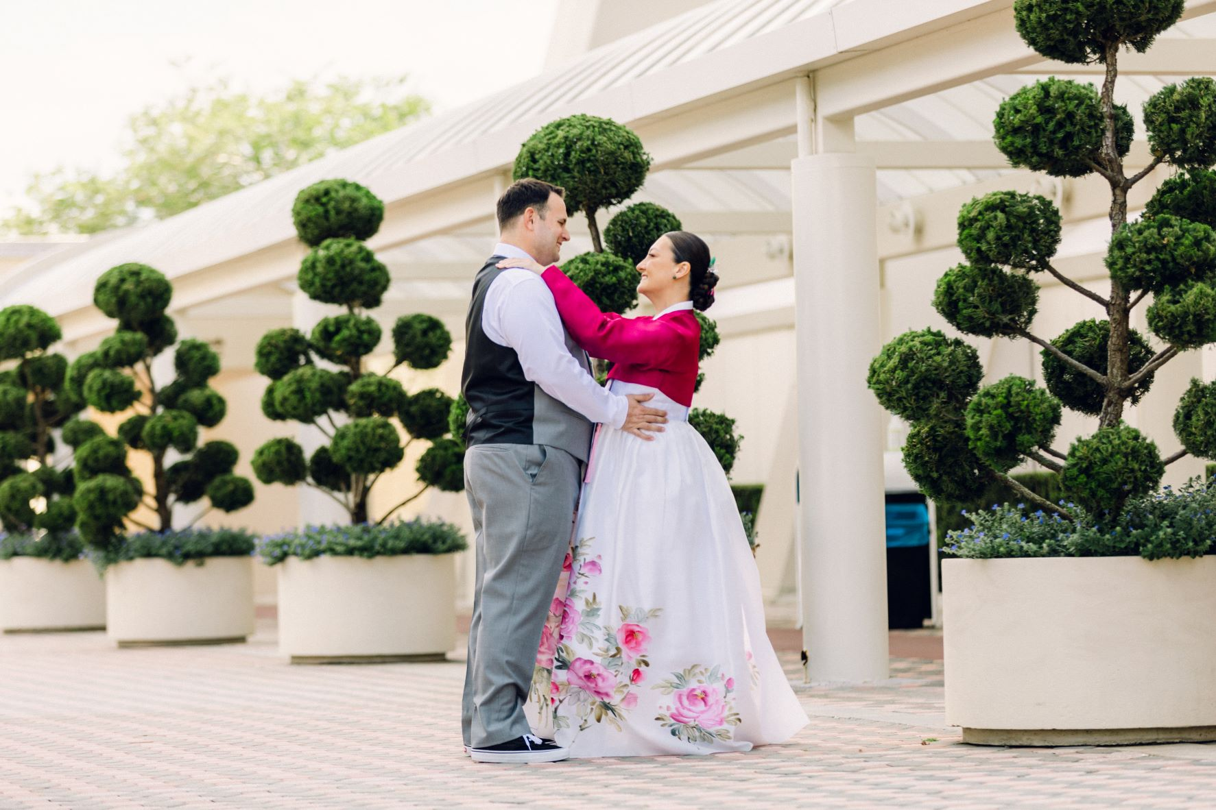 Destination Vow Renewal | Lee and Saro at the Royal Pacific Resort