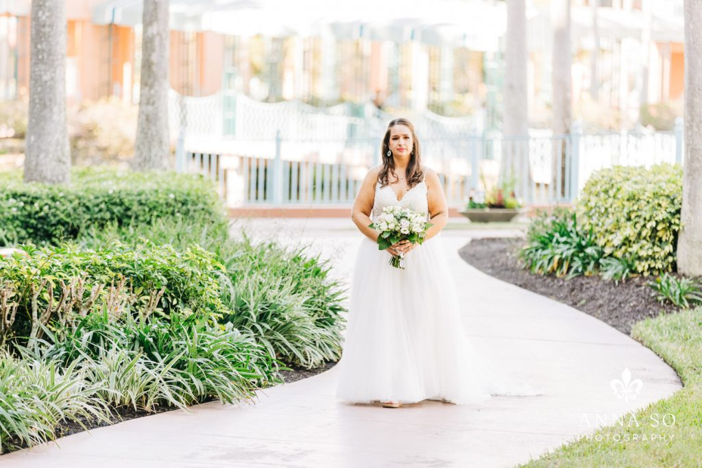 Disney Micro Wedding - Just Marry Weddings - Anna So Photography - Processional