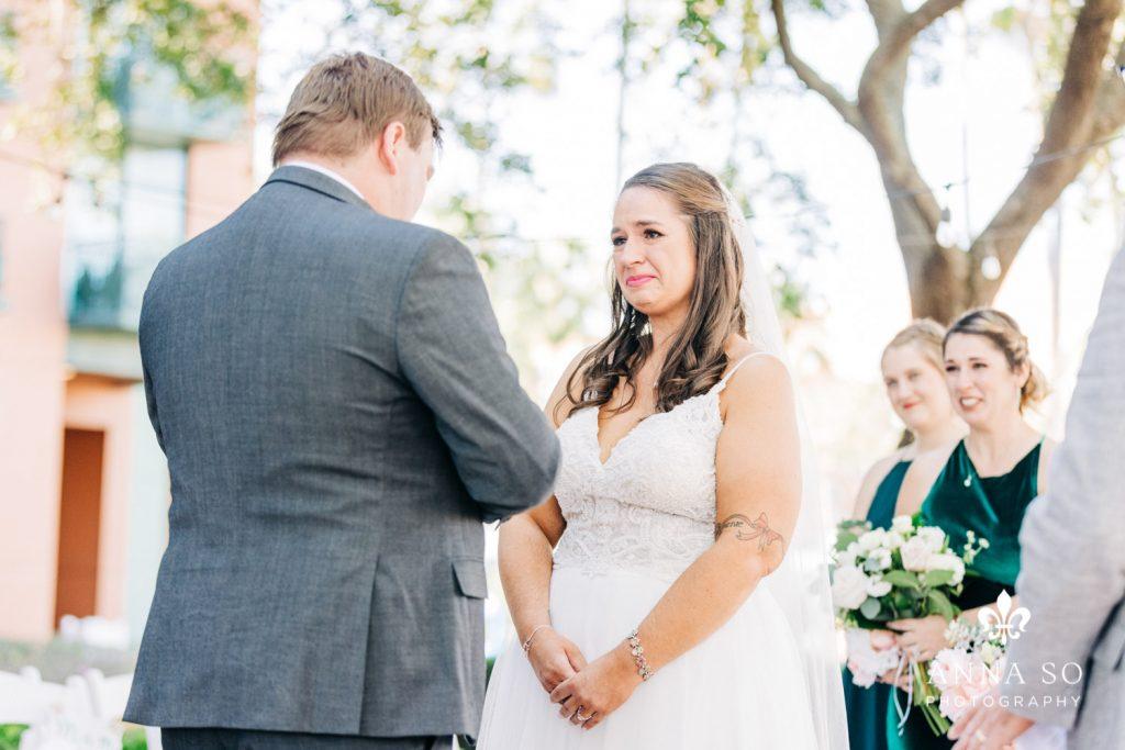 Disney Micro Wedding - Just Marry Weddings - Anna So Photography - Ceremony