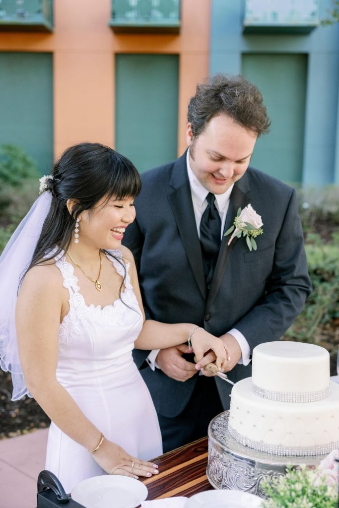 Disney Micro Wedding - Just Marry Weddings - KMD Photo and Film