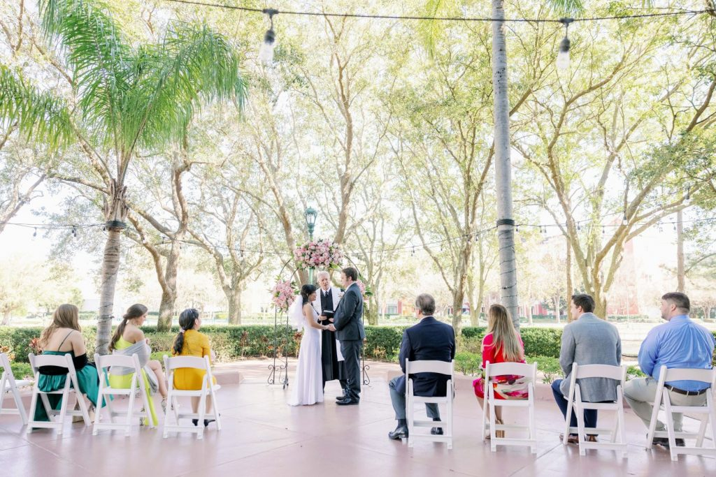Disney Micro Wedding - Just Marry Weddings - KMD Photo and Film