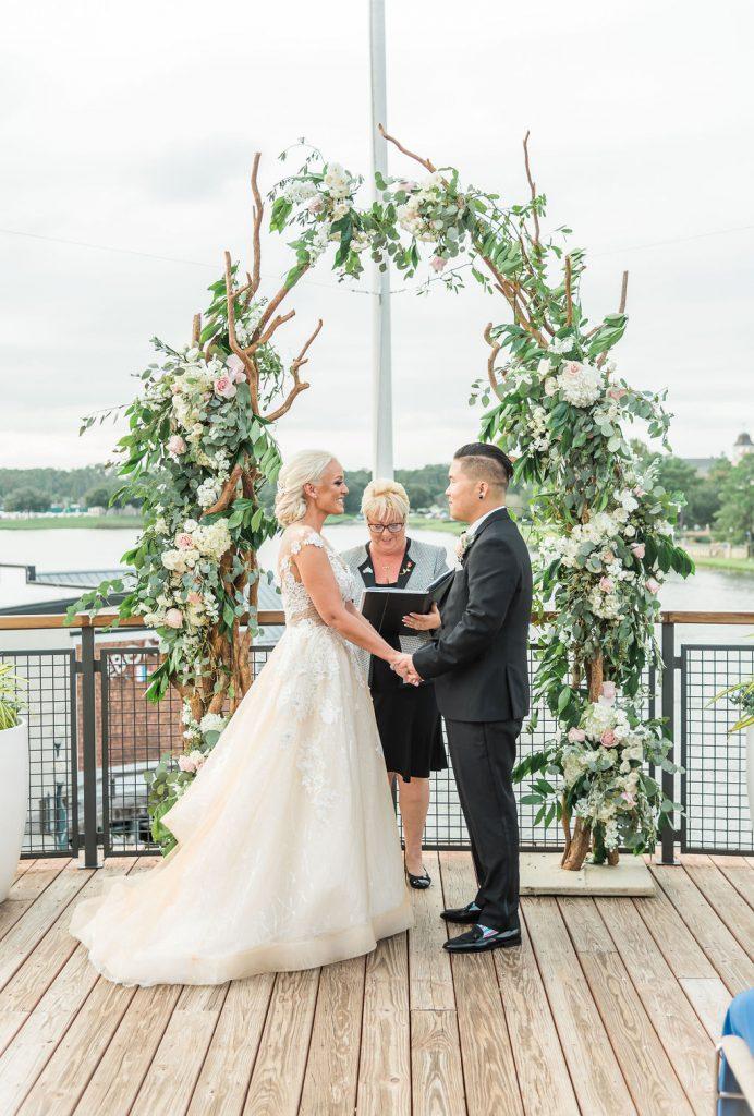 Disney Springs Wedding - Just Marry Weddings - Jesse Giles Photography