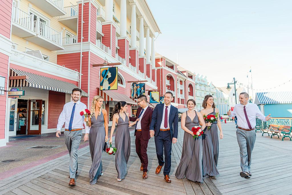 Disney Springs Wedding Venue - Just Marry Weddings - Lotus Eyes Photography