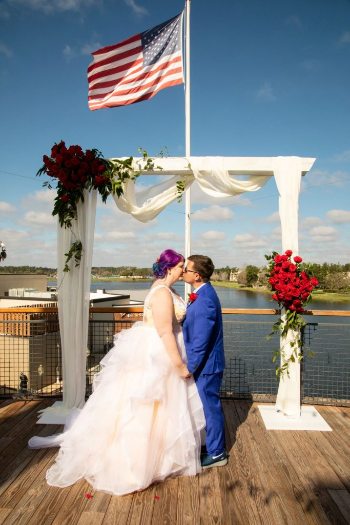 Disney Vow Renewal - Just Marry Weddings - David and Vicki Arndt Photography - Paddlefish - Ceremony