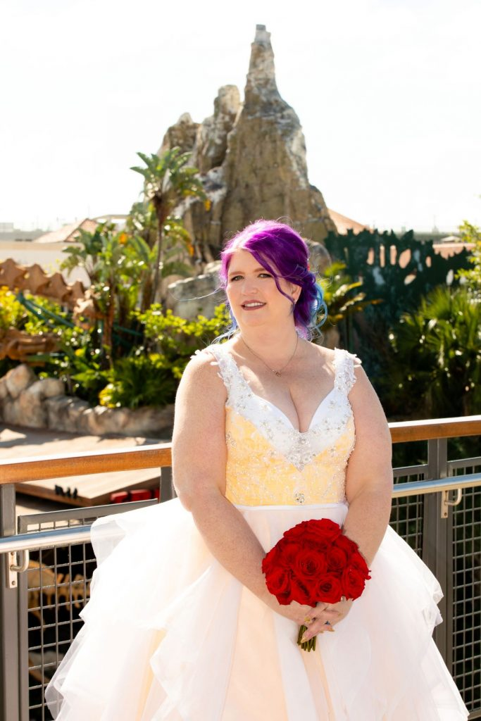 Disney Vow Renewal - Just Marry Weddings - David and Vicki Arndt Photography - Paddlefish - Bride