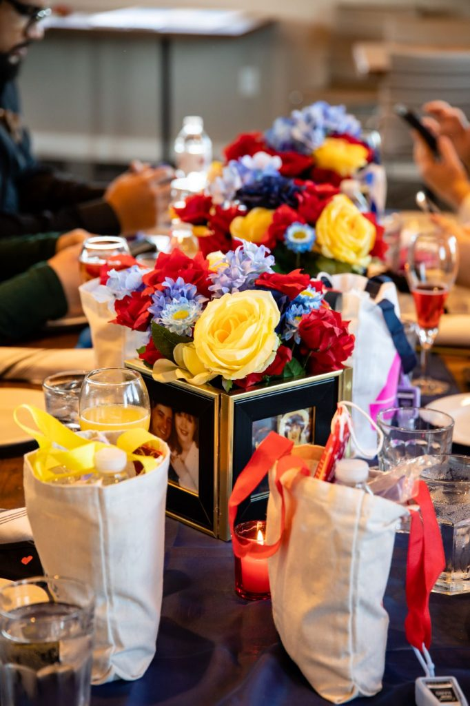 Disney Vow Renewal - Just Marry Weddings - David and Vicki Arndt Photography - Paddlefish - Reception Table
