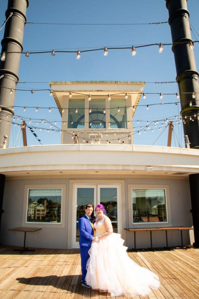 Disney Vow Renewal - Just Marry Weddings - David and Vicki Arndt Photography - Paddlefish - Couple