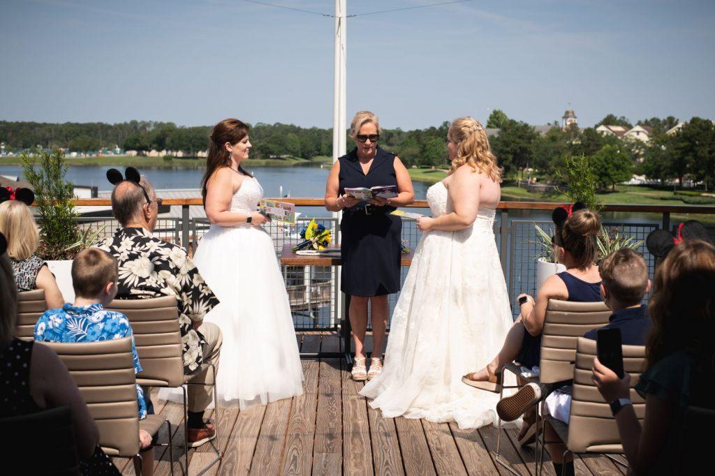 Disney Wedding Ideas - Just Marry Weddings - Nova Imagery - Paddlefish - Ceremony